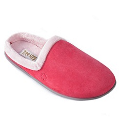 Freestep - Coral suede ladies mule slipper