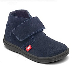 Chipmunks - Boys navy suede ankle boot