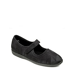 Freestep - Ash microsuede ladies slipper