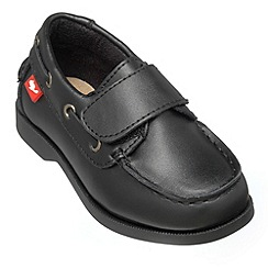 Chipmunks - Boys black 'Nathan' shoe
