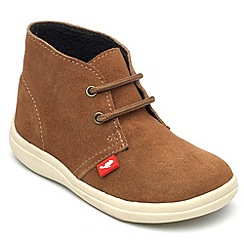 Chipmunks - Boys 'Panther' suede ankle boot
