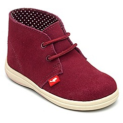 Chipmunks - Girls 'Panther' suede ankle boot