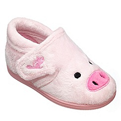 Chipmunks - Girls pink peggy the pig slipper