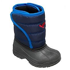 Chipmunks - Boys blue 'scot' waterproof boot