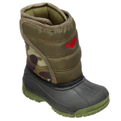 Chipmunks Boys khaki ´scott´ waterproof boot - . -