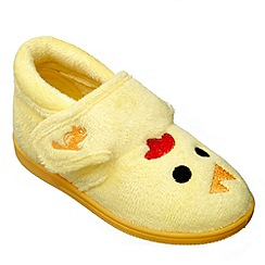 Chipmunks - Girls yellow tweet the chick slipper