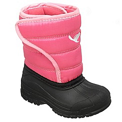 Chipmunks - Girls pink 'Zara' waterproof boot