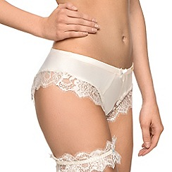 Ultimo - Ivory satin french knickers