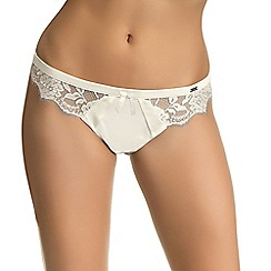 Ultimo - Ivory 'Eternità' bridal thong