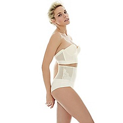 Ultimo - Ivory 'Eternit ' bridal high waisted knickers