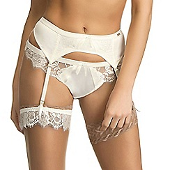 Ultimo - Ivory 'Eternità' bridal suspender belt