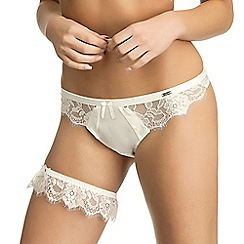 Ultimo - Ivory 'Eternità' bridal garter