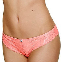 Ultimo - Orange 'The One Jessie' Brazilian brief