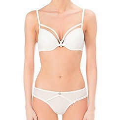 Ultimo - Ivory 'The One Ana' plunge bra