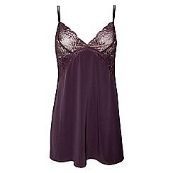Ultimo - Purple 'Pyxis' lace babydoll