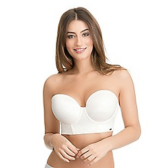 Ultimo - Nude low back strapless bra