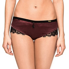 Ultimo - Plum 'Black Label Delores' shorts