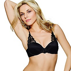 Ultimo - Black 'Jamie' balconette bra