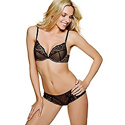 Ultimo - Black 'Linda OMG' push up bra