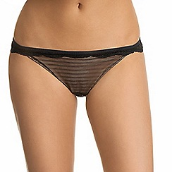 Ultimo - Black 'Linda' midi knickers