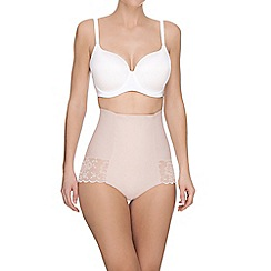 Ultimo - Pink 'Contour' medium control Brazilian shapewear knickers