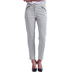 Paper Dolls - Nude tapered trousers