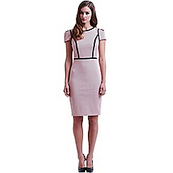 Paper Dolls - Pink structured wiggle dress