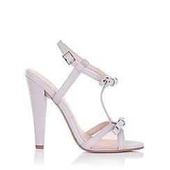 Paper Dolls - Ellette lilac mesh bow sandals