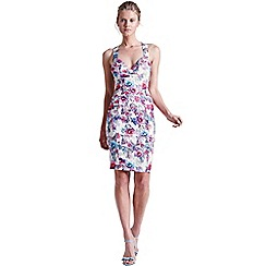 Paper Dolls - Floral cross back dress