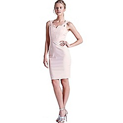 Paper Dolls - Blush top cut out dress