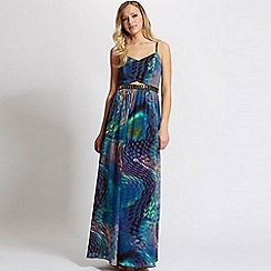 Laced In Love - Multi print maxi dress