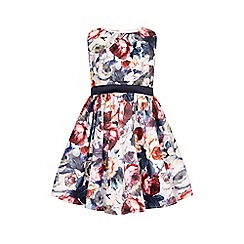 Little Misdress - Floral waist dress