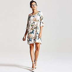 Girls On Film - Floral Tunic Dress