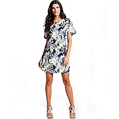 Girls On Film - Tropical print  tunic dress