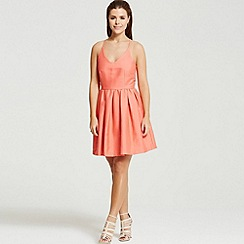 Little Mistress - By Chloe Lewis coral fit and flare