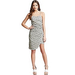 Girls On Film - Grey lace dress