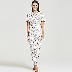 Little Mistress - By Chloe Lewis floral print jumpsuit