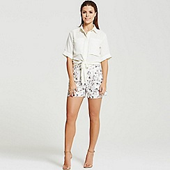 Girls On Film - By Chloe Lewis floral print shorts