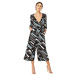 Girls On Film - Multicoloured geo print jumpsuit