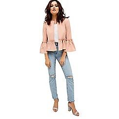 Girls On Film - Pink frill hem jacket