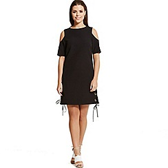 Little Mistress - By Chloe Lewis black shift dress