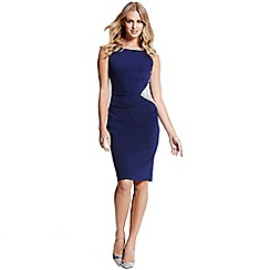 Paper Dolls - Navy lace insert dress