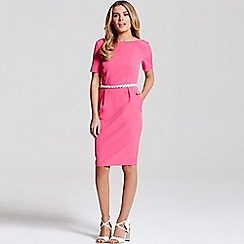 Paper Dolls - Pink jewel waist dress