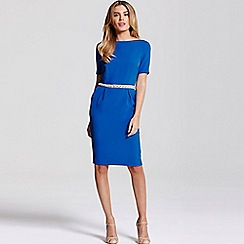 Paper Dolls - Blue jewel waist dress