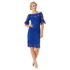 Paper Dolls - Blue crochet dress