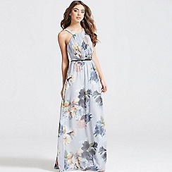 Little Mistress - Floral print occasion maxi dress