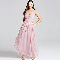 Little Mistress - Rose jewel bust maxi dress