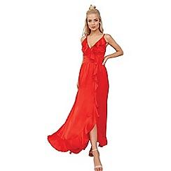 Little Mistress - Red maxi dress
