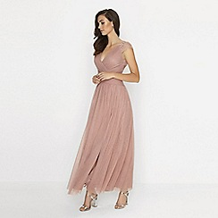 Little Mistress - Apricot maxi dress