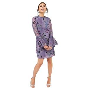 Little Mistress Print shift dress